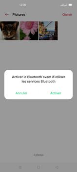 Oppo Reno 4Z - Photos, vidéos, musique - Envoyer une photo via Bluetooth - Étape 13