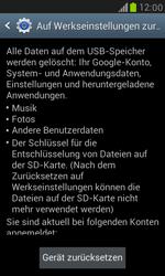 Samsung Galaxy S3 Mini - Fehlerbehebung - Handy zurücksetzen - 8 / 10