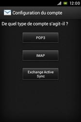 Sony C1505 Xperia E - E-mail - Configurer l