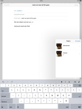 Apple iPad Pro - E-mail - E-mail versturen - Stap 9