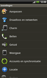 HTC S510b Rhyme - Internet - buitenland - Stap 4
