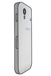 Samsung S5830 Galaxy Ace - SIM-Karte - Einlegen - Schritt 5