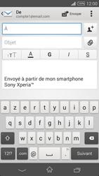 Sony D6603 Xperia Z3 - E-mail - envoyer un e-mail - Étape 4