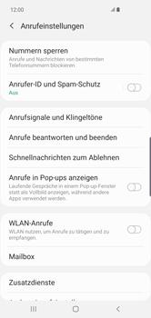 Samsung Galaxy S10 Plus - Anrufe - Rufumleitungen setzen und löschen - 8 / 15