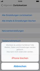 Apple iPhone 5s - iOS 11 - Gerät - Zurücksetzen auf die Werkseinstellungen - Schritt 7