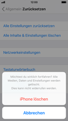 Apple iPhone SE - iOS 11 - Fehlerbehebung - Handy zurücksetzen - Schritt 9