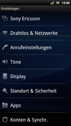 Sony Ericsson Xperia Arc S - Ausland - Im Ausland surfen – Datenroaming - Schritt 6