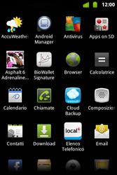 Alcatel OT-983 - Internet e roaming dati - Uso di Internet - Fase 3