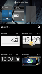 HTC One Mini - Getting started - Installing widgets and applications on your start screen - Step 6