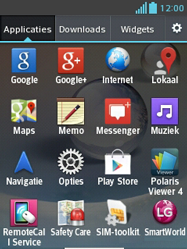 LG E430 Optimus L3 II - internet - handmatig instellen - stap 3