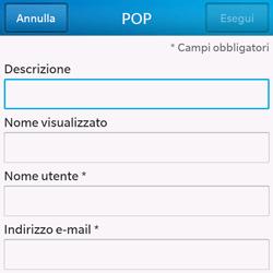 BlackBerry Q10 - E-mail - Configurazione manuale - Fase 8