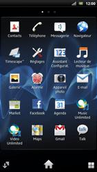 Sony LT22i Xperia P - E-mail - envoyer un e-mail - Étape 2