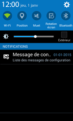 Samsung G388F Galaxy Xcover 3 - Internet - Configuration automatique - Étape 4