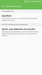Samsung Galaxy J5 (2016) DualSim - Anrufe - Anrufe blockieren - 7 / 12