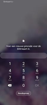 Samsung Galaxy S20 5G Dual-SIM eSIM SM-G981B - Beveiliging en ouderlijk toezicht - PUK code invoeren - Stap 4