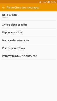 Samsung G928F Galaxy S6 edge+ - SMS - configuration manuelle - Étape 6