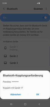 Samsung Galaxy S10 - Bluetooth - Geräte koppeln - Schritt 10