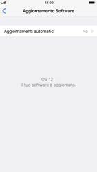 Apple iPhone 7 - iOS 12 - Software - Installazione degli aggiornamenti software - Fase 8