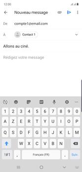 Samsung Galaxy Note 10 - E-mails - Envoyer un e-mail - Étape 9