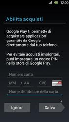 Sony Xperia U - Applicazioni - Configurazione del negozio applicazioni - Fase 13
