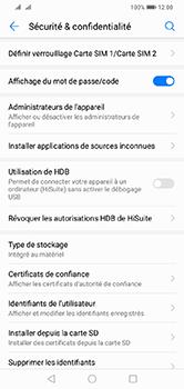 Huawei Y7 (2019) - Sécurité - modifier SIM PIN - Étape 5