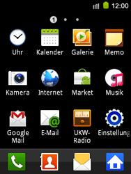 Samsung Galaxy Mini - Anrufe - Rufumleitungen setzen und löschen - 3 / 9