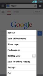 LG D505 Optimus F6 - Internet - Internet browsing - Step 6
