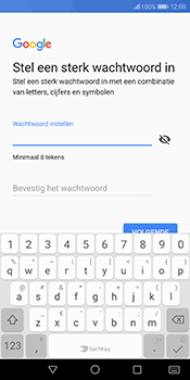 Huawei Mate 10 Pro - Applicaties - Account instellen - Stap 12