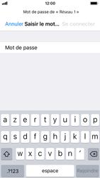 Apple iPhone SE - iOS 11 - Internet et connexion - Accéder au réseau Wi-Fi - Étape 6