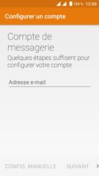 Crosscall Trekker M1 Core - E-mail - Configuration manuelle (yahoo) - Étape 5