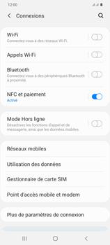 Samsung Galaxy S20+ - Internet et connexion - Connexion avec un équipement multimédia via Bluetooth - Étape 6