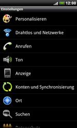 HTC Desire S - MMS - Manuelle Konfiguration - 0 / 0