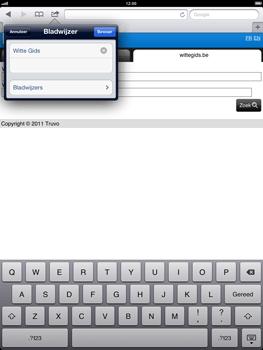 Apple The New iPad - Internet - hoe te internetten - Stap 11