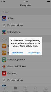 Apple iPhone 6s Plus - Apps - Herunterladen - 0 / 0