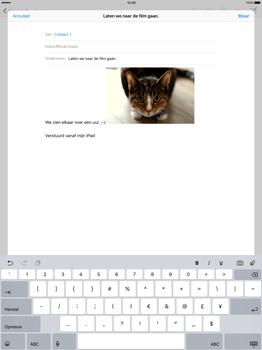 Apple iPad Pro - E-mail - E-mail versturen - Stap 12