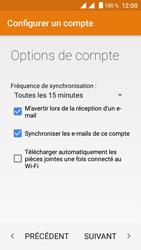 Crosscall Trekker M1 Core - E-mail - Configuration manuelle (yahoo) - Étape 9