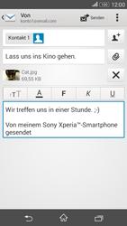 Sony Xperia E4G - E-Mail - E-Mail versenden - 14 / 16