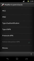 Sony Xperia T - Internet et roaming de données - Configuration manuelle - Étape 13