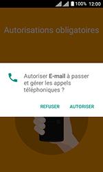 Alcatel U3 - E-mails - Ajouter ou modifier un compte e-mail - Étape 4