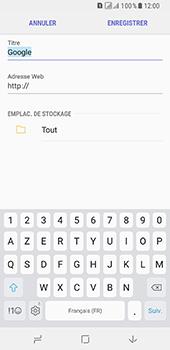 Samsung Galaxy A8 (2018) - Internet - navigation sur Internet - Étape 10