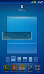 Samsung Galaxy Ace III - Startanleitung - Installieren von Widgets und Apps auf der Startseite - Schritt 9