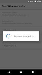 Sony xperia-xa1-g3121-android-oreo - Netwerk selecteren - Handmatig een netwerk selecteren - Stap 11