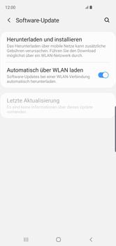 Samsung Galaxy S10 - Software - Installieren von Software-Updates - Schritt 6