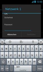 ZTE Blade III - WiFi - WiFi-Konfiguration - Schritt 7