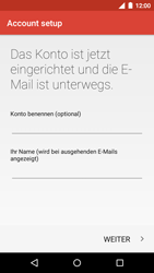 Motorola Moto G 3rd Gen. (2015) - E-Mail - Konto einrichten - Schritt 24
