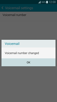Samsung N910F Galaxy Note 4 - Voicemail - Manual configuration - Step 11