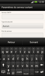 HTC One SV - E-mail - Configuration manuelle - Étape 15