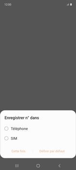 Samsung Galaxy A51 5G - Contact, Appels, SMS/MMS - Ajouter un contact - Étape 5