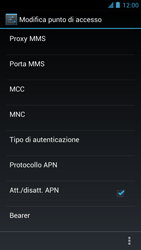 Alcatel One Touch Idol - MMS - Configurazione manuale - Fase 14