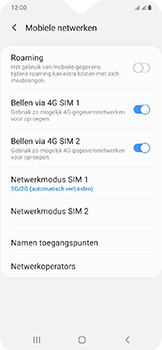 Samsung Galaxy A20e - internet - activeer 4G Internet - stap 6